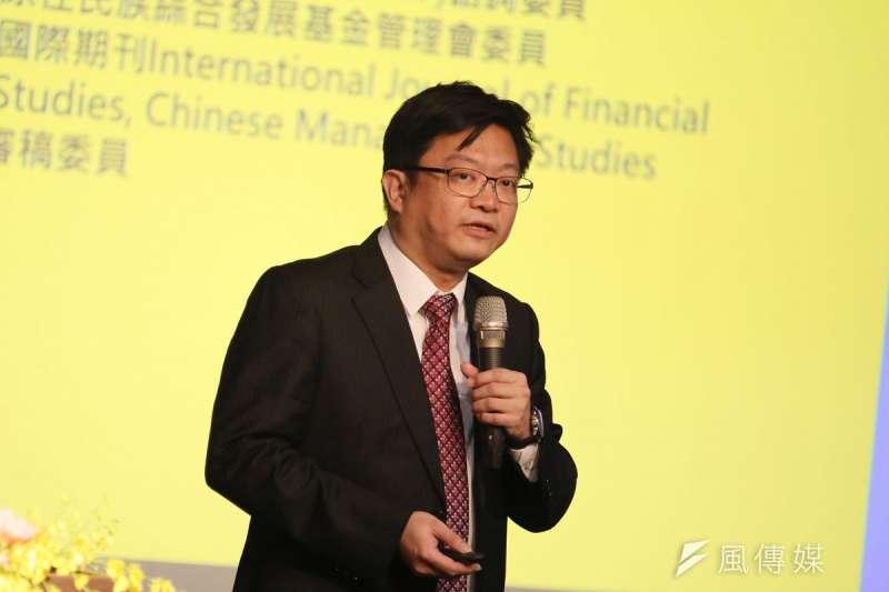 銘傳大學金融科技創新研究中心執行長李智仁認為,創新是跨領域整合的具體實踐。(柯承惠攝)