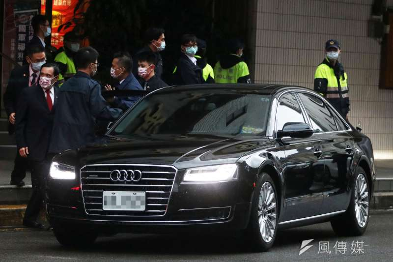 20201203-Audi A8L。(蘇仲泓攝)