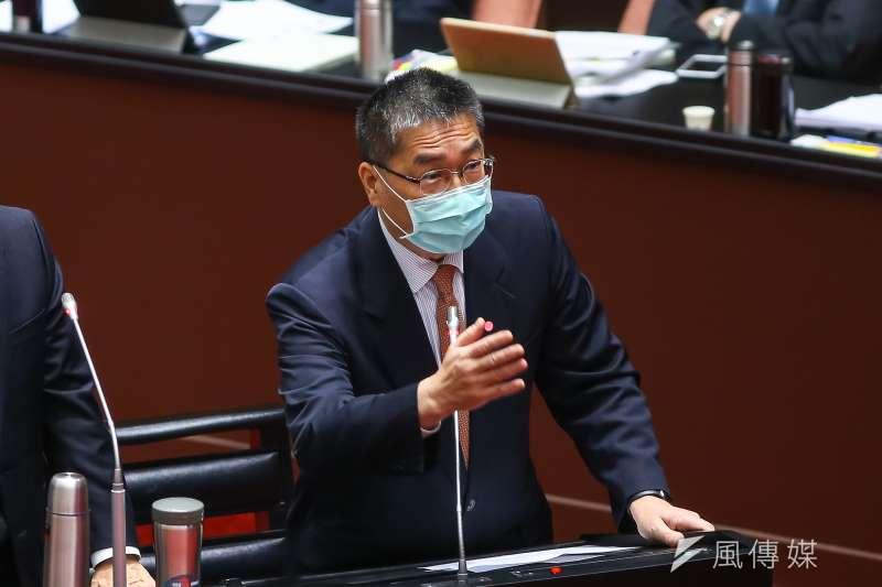 徐國勇原定今上午要到立法院內政委員會針對「實價登錄2.0」等修正法案進行報告並備詢。(資料照,顏麟宇攝)