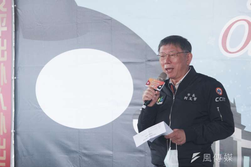 台北市長柯文哲(見圖)表示,土石滑落事件發生後,顯見台北到宜花東的交通有瓶頸,也可見北宜高鐵真的有加速興建的必要。(方炳超攝)