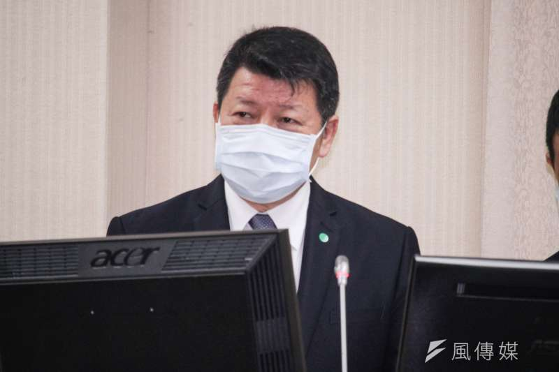 20201207-國防部副部長張哲平出席立院國防委員會備詢。(蔡親傑攝)
