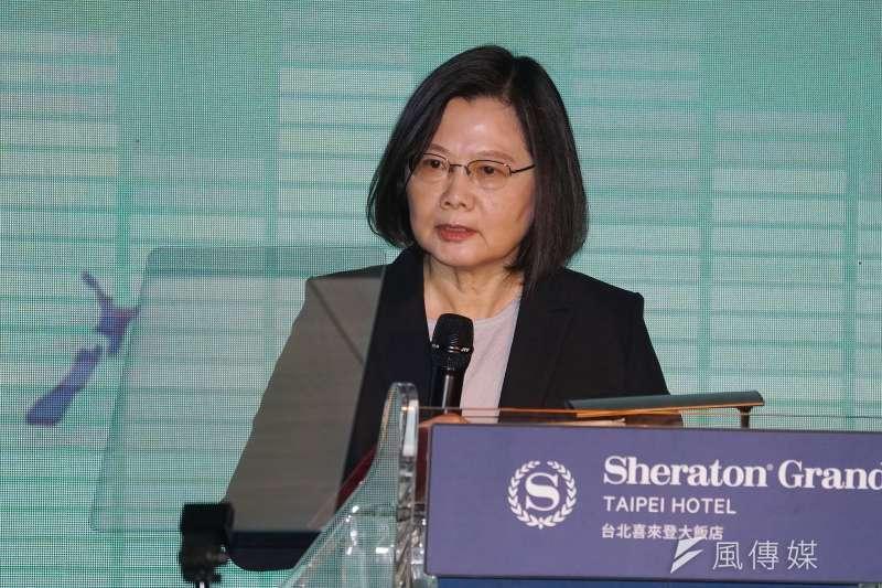 總統蔡英文(見圖)表示,在台灣推動社會住宅非常不容易,「過去的政府做不到,我上任後則堅持要用力推動」。(資料照,盧逸峰攝)