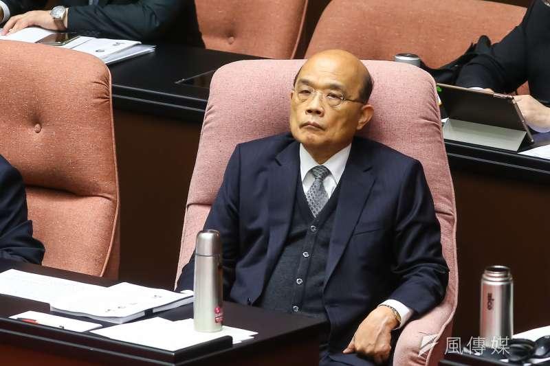 蘇貞昌連續與民進黨正國會人物產生糾葛。(資料照,顏麟宇攝)