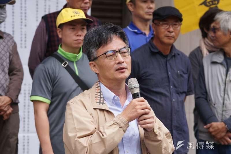 表達反對萊豬進口立場的醫師蘇偉碩遭警方約談,時機敏感引發關注。(資料照,盧逸峰攝)