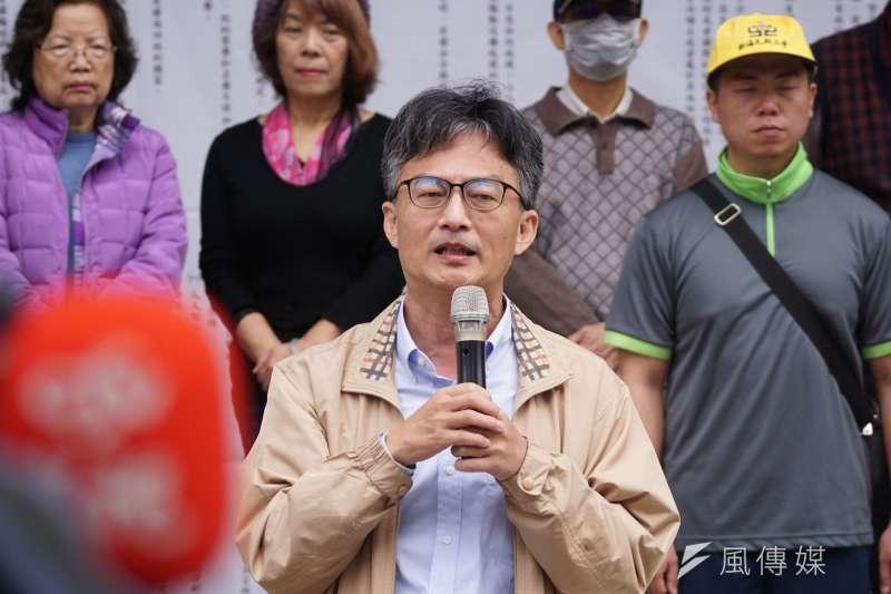 對於反萊豬醫師蘇偉碩(見圖)收到警局偵訊通知書,國民黨立院黨團總召林為洲在臉書發文痛批「WTF!太扯了!」(資料照,盧逸峰攝)