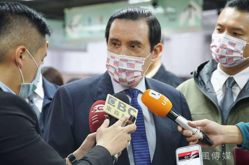 北市和平醫院封院議題讓立法院長游錫堃與前總統馬英九(見圖)言辭交鋒。(資料照,盧逸峰攝)