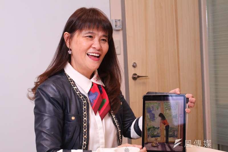 20201214-趨勢科技共同創辦人兼執行長陳怡樺接受專訪。(蔡親傑攝)