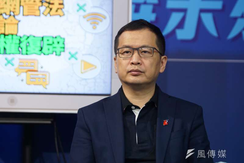 萊豬行政命令表決24日舉行,國民黨議員羅智強日前發起「罷免12萊委」,盼能立法禁止萊豬進口。(資料照,盧逸峰攝)