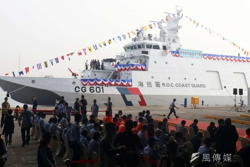 20201215-海巡600噸級巡防艦安平艦。(蘇仲泓攝)