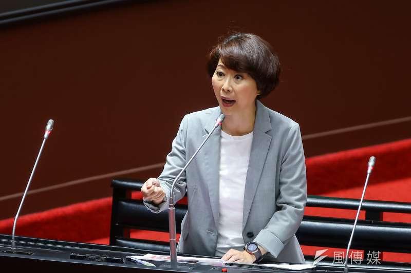 民進黨立委陳亭妃近日於民視戲劇中出演「媽祖」,引發爭議。(資料照,顏麟宇攝)