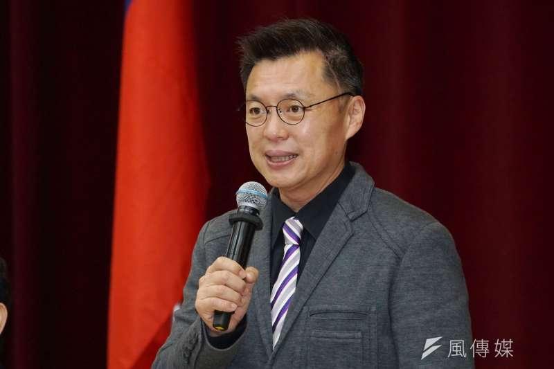 20201215-立法院15日舉行「台灣與泰國國會議員友好協會」成立大會,立委趙天麟致詞。(盧逸峰攝)