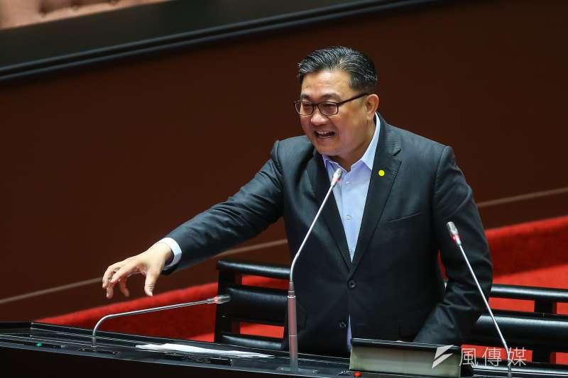 20201215-民進黨立委王定宇15日於立院質詢。(顏麟宇攝)