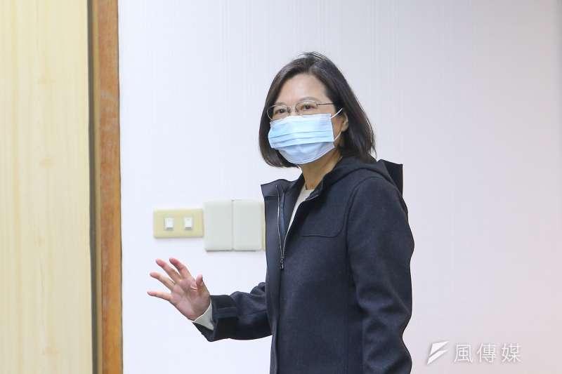 總統蔡英文於2012年3月5日發布的反瘦肉精貼文,近期遭網友翻出。(資料照,顏麟宇攝)