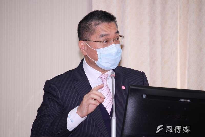 20201221-內政部長徐國勇出席立院內政委員會備詢。(蔡親傑攝)