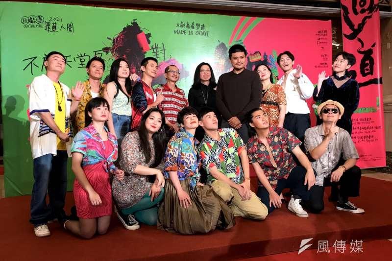 國家表演藝術中心3館共製劇作《十殿》將於明年登台演出。(吳尚軒攝)