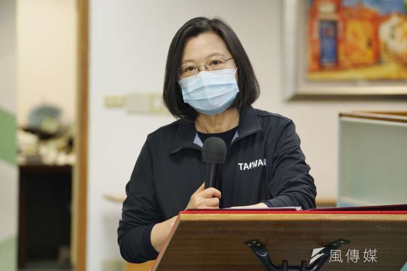 總統蔡英文(見圖)表姊夫吳明鴻將接任最高行政法院院長,引發各界質疑。(資料照,盧逸峰攝)