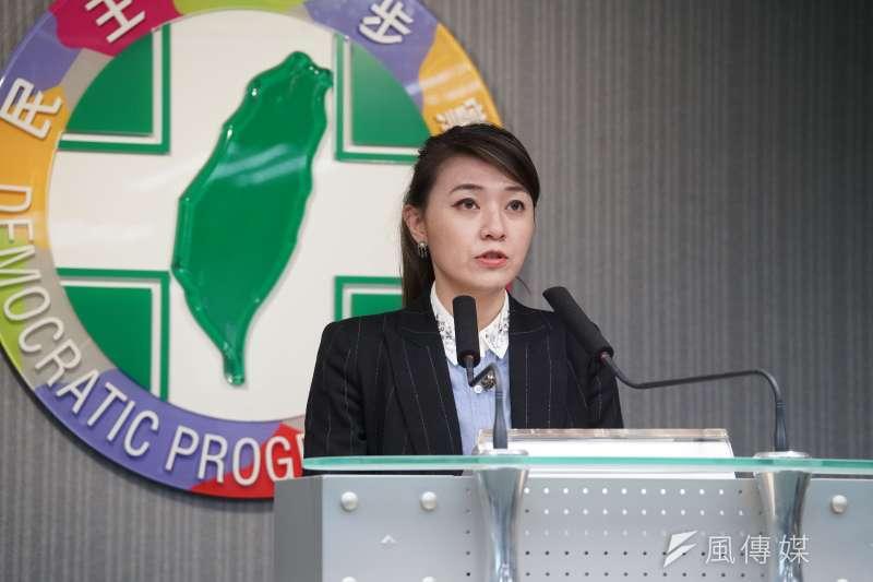 民進黨發言人顏若芳(見圖)被指在台北買下2間售價超過2000萬的房屋。(資料照,盧逸峰攝)