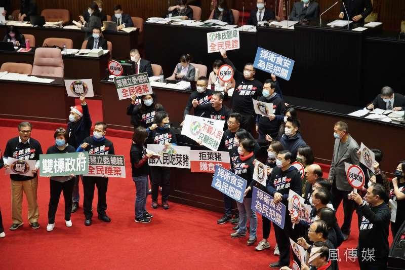 東華大學民族發展與社會工作學系教授施正鋒批評,立法委員若只聽從黨意,為何不改稱為黨意代表?(盧逸峰攝)
