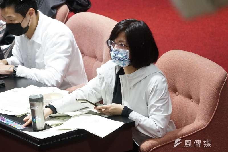 20201224-立法院會24日處理萊豬相關法案與9項行政命令,立委林淑芬出席。(盧逸峰攝)