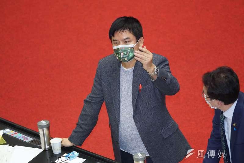 20201224-立法院會24日處理萊豬相關法案與9項行政命令,立委莊瑞雄出席。(盧逸峰攝)