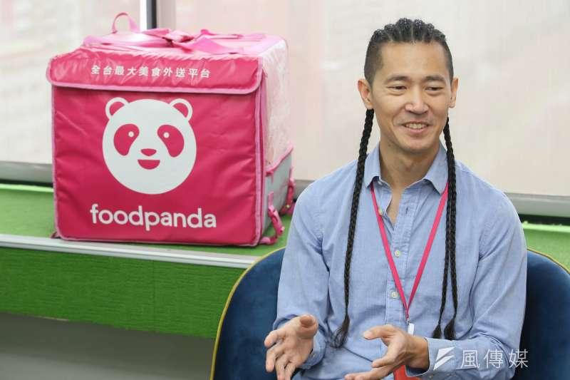 foodpanda董事總經理方俊強認為,他們存在的價值,就是幫忙解決消費者的痛點。(柯承惠攝)