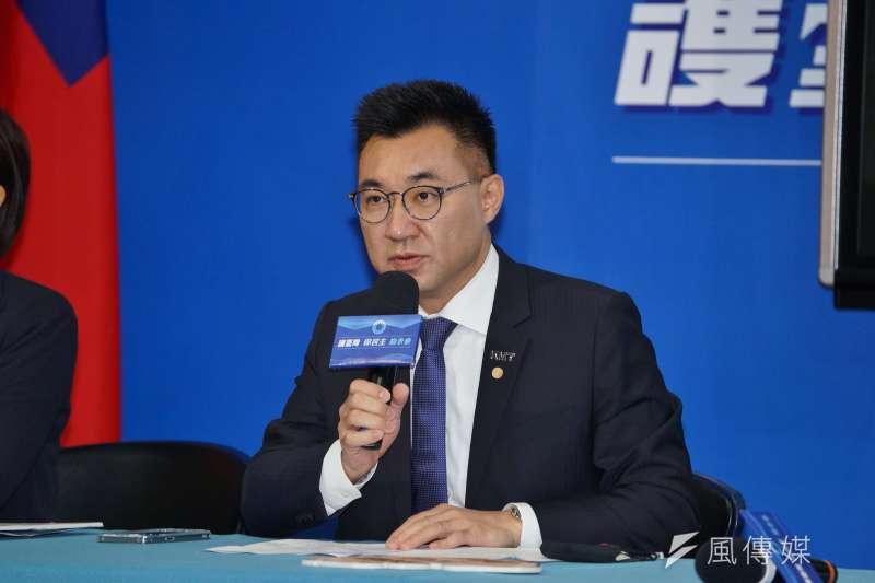 國民黨主席江啟臣上任後做出許多改革。(資料照,盧逸峰攝)