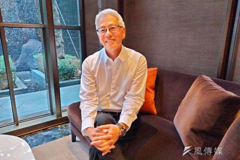 20201230-寶璽建設創辦人梁德煌認為,在台商回流及外資相繼來台投資狀況下,房市至少還有8至10年光景。(林喬慧攝)