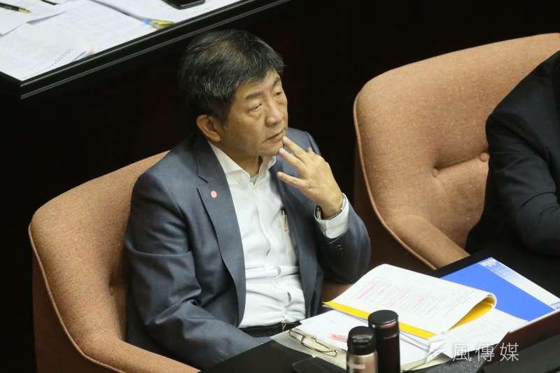 英系屬意陳時中參選台北市長,其他派系則各有盤算。(柯承惠攝)