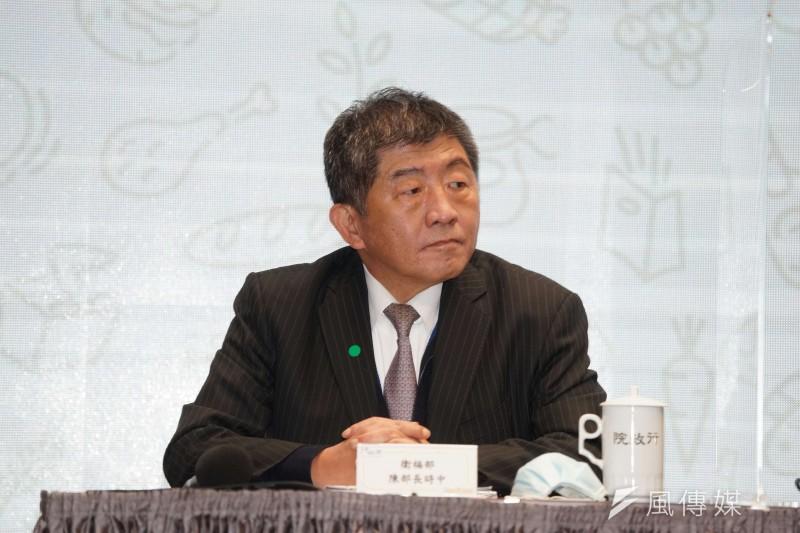 衛福部長陳時中(見圖)宣布,2021年健保費率將從現行4.69%漲至5.17%。(盧逸峰攝)