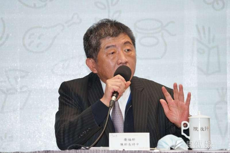 衛福部長陳時中因被賴姓男子指控「隱瞞疫情,無恥舔美賣台」,提告妨害名譽。(資料照,盧逸峰攝)