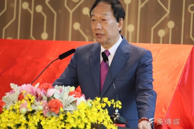 20210104-鴻海集團創辦人郭台銘。(柯承惠攝)