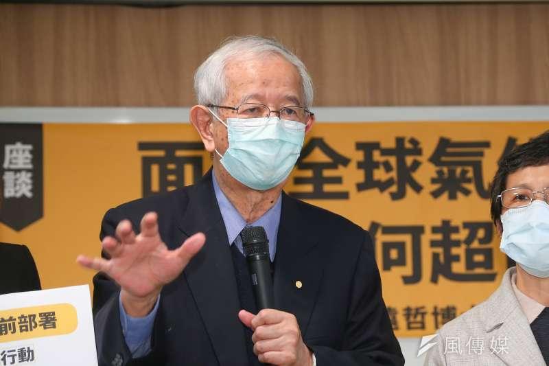 中研院前院長李遠哲(見圖)表示,若萊克多巴胺在安全標準內,對健康影響不大。(顏麟宇攝)