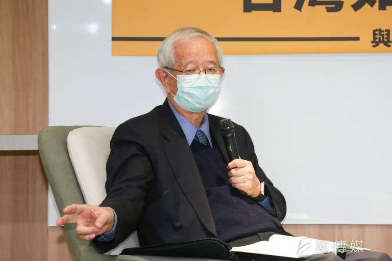 前中央研究院長李遠哲稱,若在安全標準內,萊劑對人民健康影響不大,引起各界質疑。(資料照,顏麟宇攝)