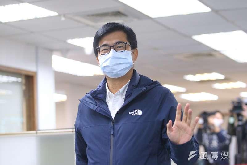 高雄市長陳其邁(見圖)表示,住在高雄的日本人很多,且因為高雄跟日本九州城市很像。(資料照,顏麟宇攝)