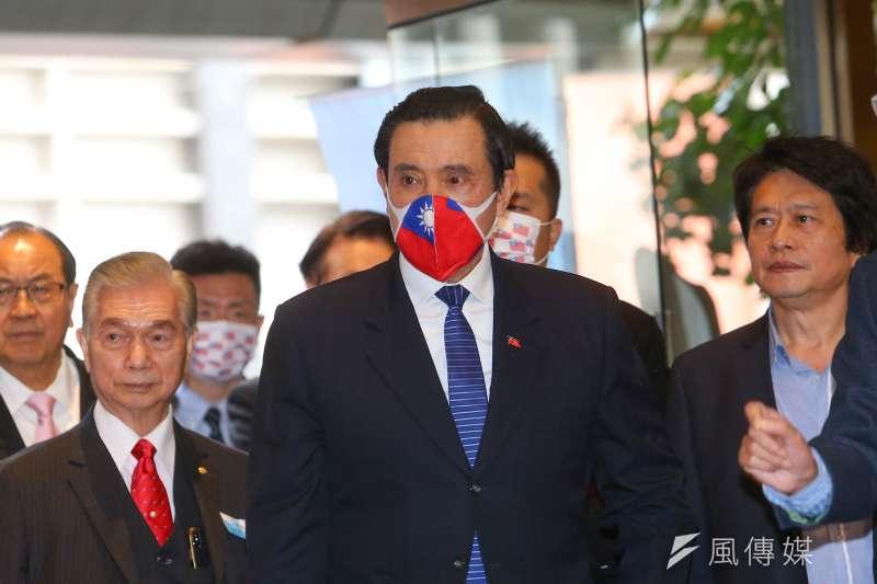 210106-前總統馬英九6日出席國民黨公教警消委員會成立大會。(顏麟宇攝)