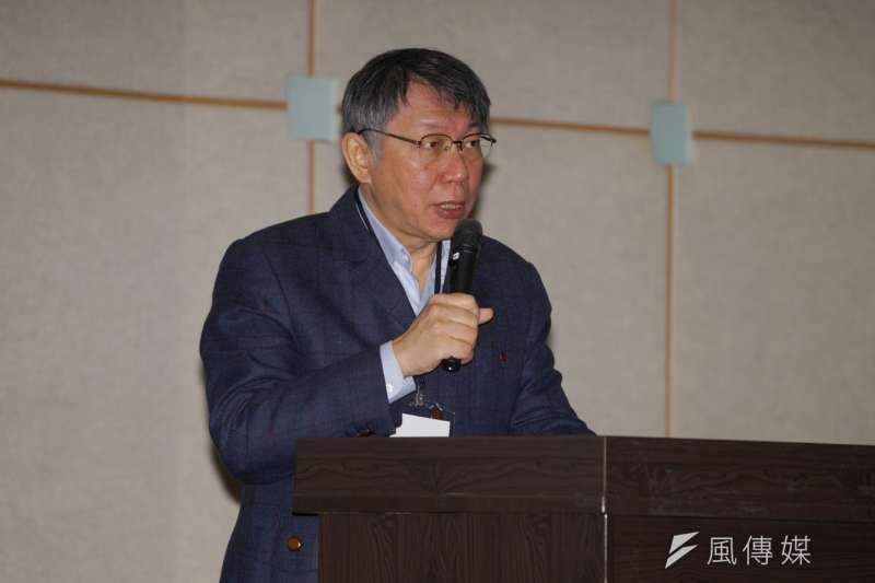 春節將至,台北市長柯文哲16日表示,台北的7000間防疫旅館會讓有需要的市民先入住。(資料照,盧逸峰攝)