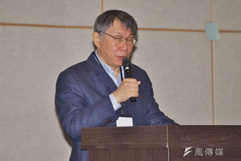台北廣播電台挨批頻找民眾黨人士上節目,台北市長柯文哲15日表示已經要求觀傳局處理。(資料照,盧逸峰攝)