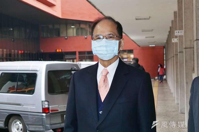 20210112-雲林縣政府等12日召開茂谷柑推廣記者會,立法院長游錫堃出席。(盧逸峰攝)