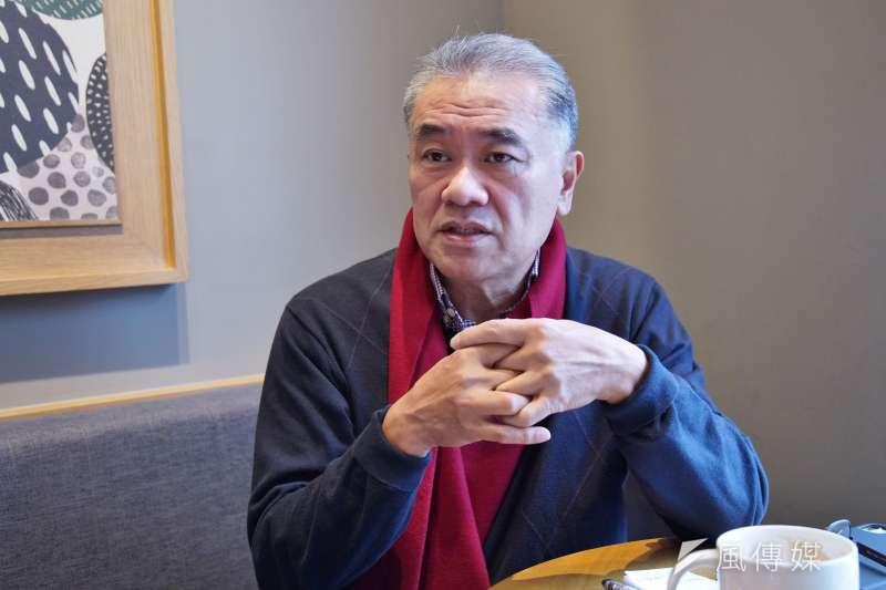 20210111-循環台灣基金會董事長黃育徵接受《風傳媒》專訪。(盧逸峰攝)