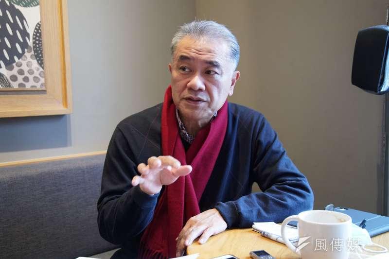 循環台灣基金會董事長黃育徵曾是小留學生,在美國知名顧問公司工作,薪水是台灣的數倍,但是他就是想回台灣。因為台灣才是他的家。(盧逸峰攝)