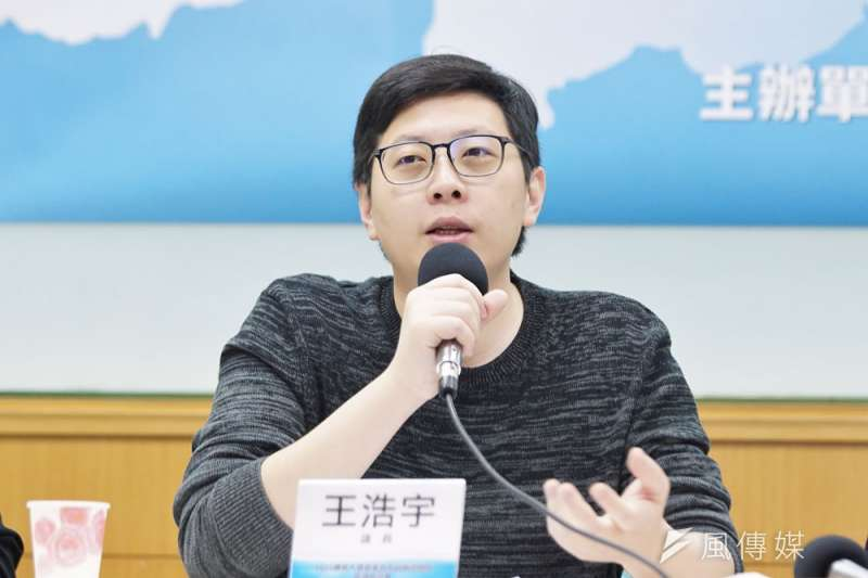 民進黨桃園市議員王浩宇罷免過關,成為史上第一位被罷免的六都市議員。(盧逸峰攝)