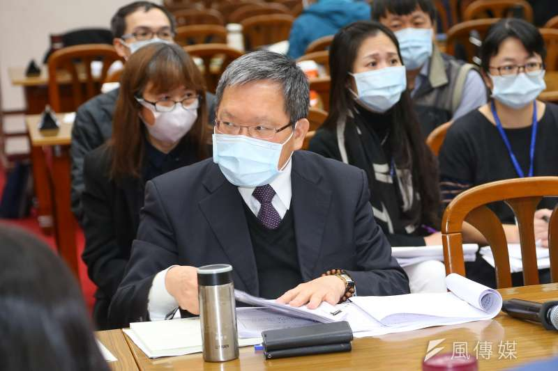財政部長蘇建榮(見圖)11日表示,暫時決定不推動囤房稅。(資料照,顏麟宇攝)