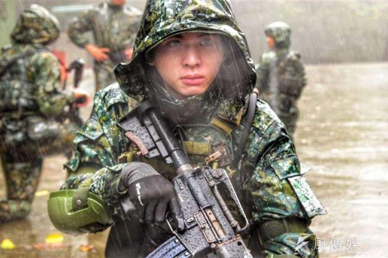 陸軍特指部位於陽明山國家風景區內的「八煙營區」終年低溫下雨,由於任務敏感性高,鮮少對外曝光。(取自青年日報)
