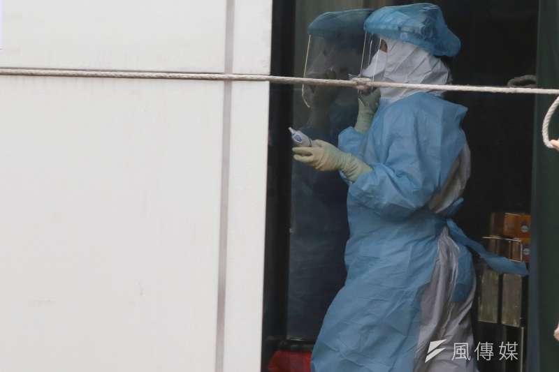新冠肺炎(武漢肺炎)疫情嚴峻,衛服部立桃園醫院爆發院內感染,引發關注。(資料照,柯承惠攝)