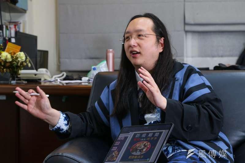 20210108-行政院政委唐鳳專訪。(顏麟宇攝)
