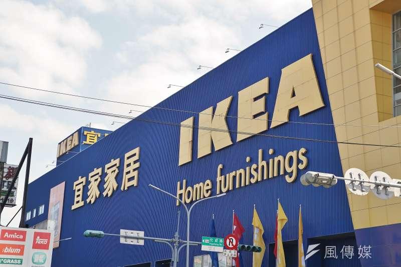 IKEA以東西物美價廉的高CP值出名,但也有一些商品看似方便、實際使用後才發現是地雷!(資料照,盧逸峰攝)