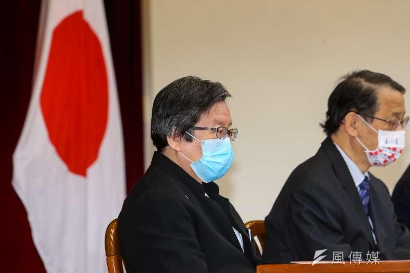 日本援台新冠疫苗,背後有邱義仁全力奔走促成。(資料照,顏麟宇攝)
