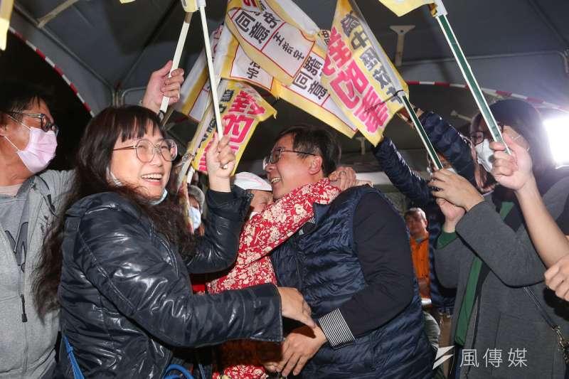 王浩宇罷免案開出的罷免票超乎民進黨預期。(顏麟宇攝)