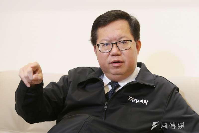 桃園市長鄭文燦第二任期即將屆滿,各陣營2022人選備受關注。(資料照,柯承惠攝)