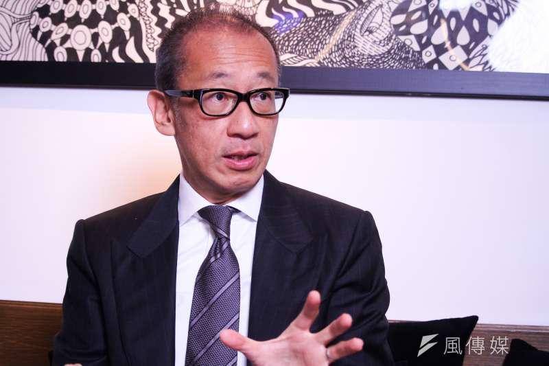 20210118-晶華酒店集團董事長潘思亮專訪。(蔡親傑攝)